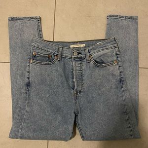 Wedgie Skinny Levi jeans!